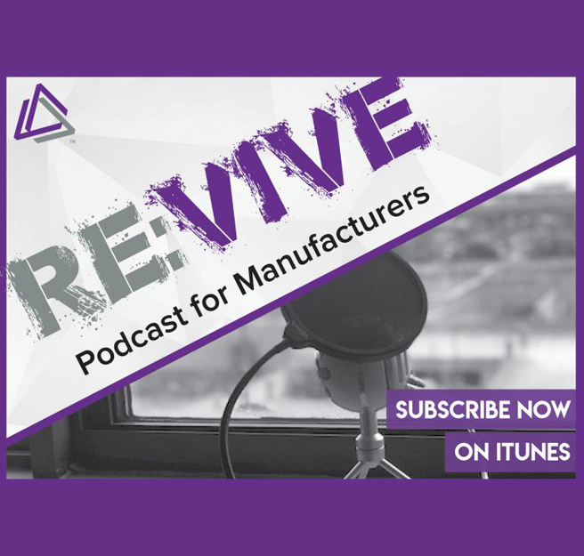 ReVive Podcast Artwork by Vive Marketing